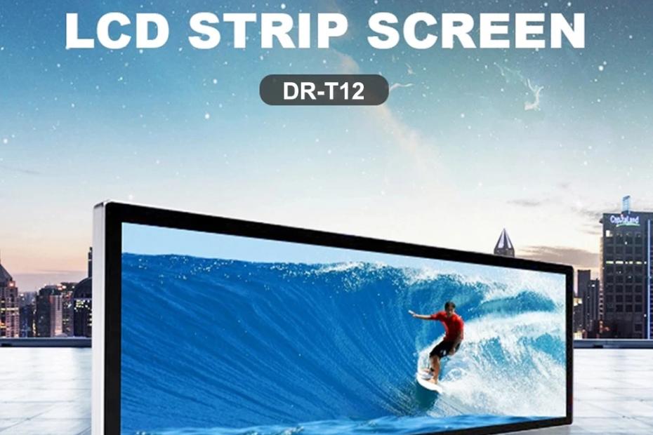 19.1 Inch Stretched Digital Signage